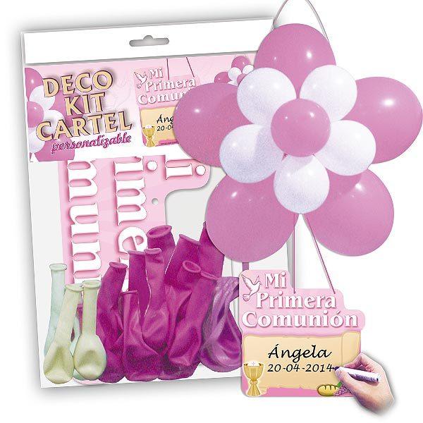 Deco Kit Cartel Comunión niña-0