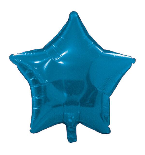 globo poliamida estrella azul