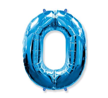 Globo poliamida azul 0